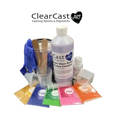 Water Clear Polyester Starter Kit 500g
