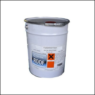 CrysticROOF Topcoat Light Grey 20kg