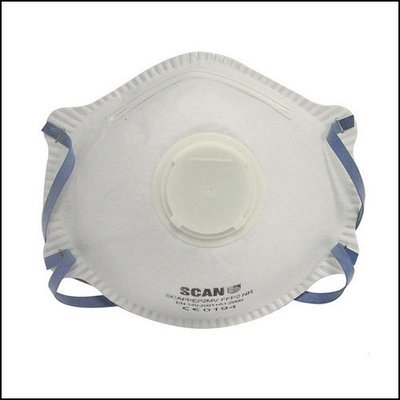 FFP2 Premier Valved Disposable Face Mask - 3pk.
