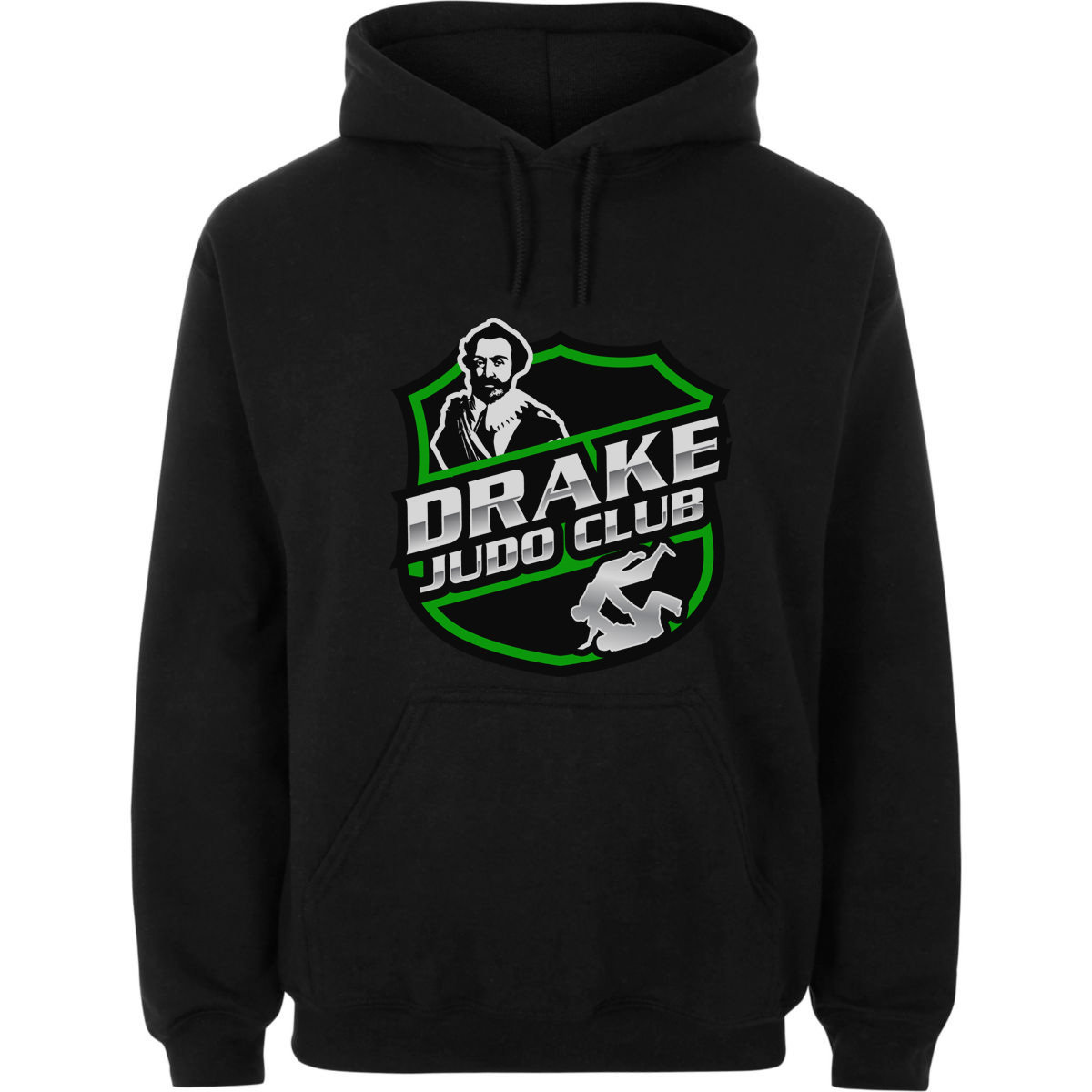 Drake Judo Club - Hoodie - Please add child/adult's name on order comments at checkout.