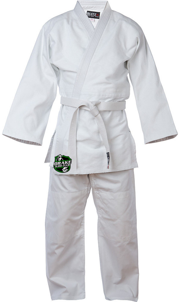Judo Suits - All sizes available - Please add child/adult's name on order comments at checkout.
