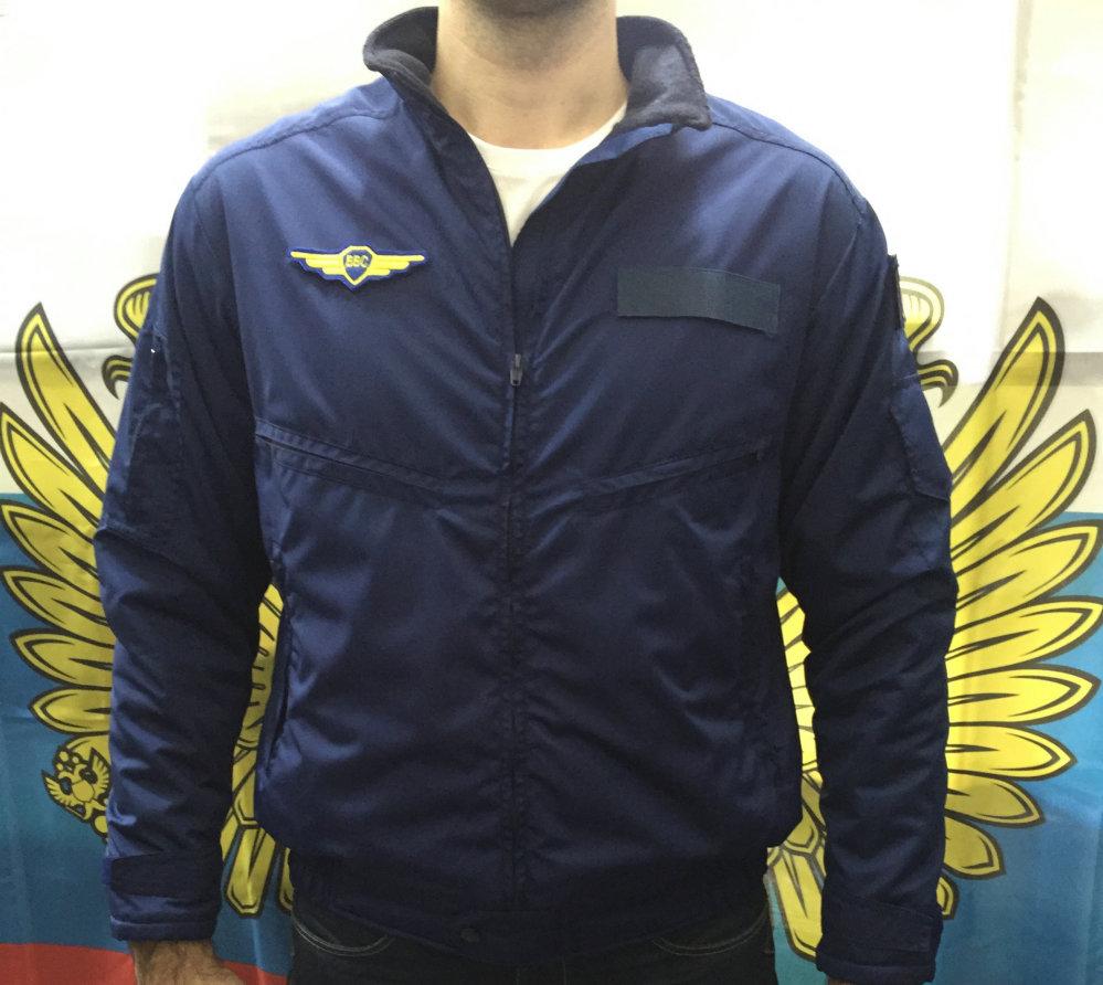 Куртка легкая защитная темно-синяя