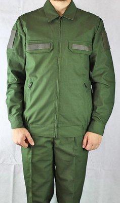 Офисный костюм МО зелёный
