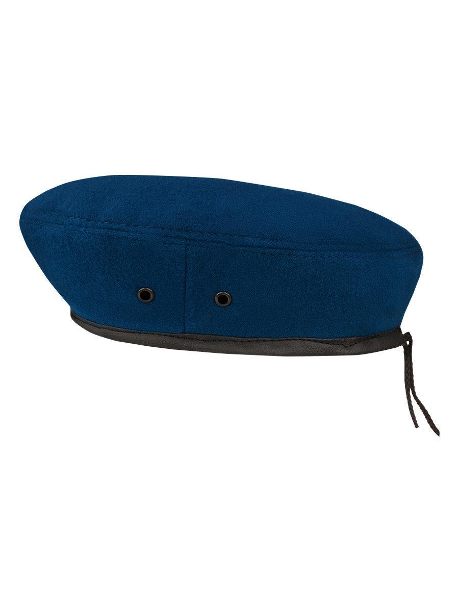 Берет синий