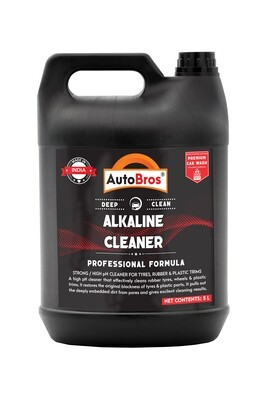 Alkaline Tyre & Plastic Trim Cleaner | High pH Cleaner that Removes Deeply Embedded Dirt from Pores