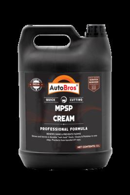 MPSP Cream Polish - Plastic, Leather, Rubber & Vinyl Silicone Based Dressing   Cream Based Formulation Gives Better Coverage