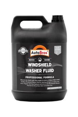 Windshield Washer Fluid Concentrate - Superior Clarity Glass Cleaning