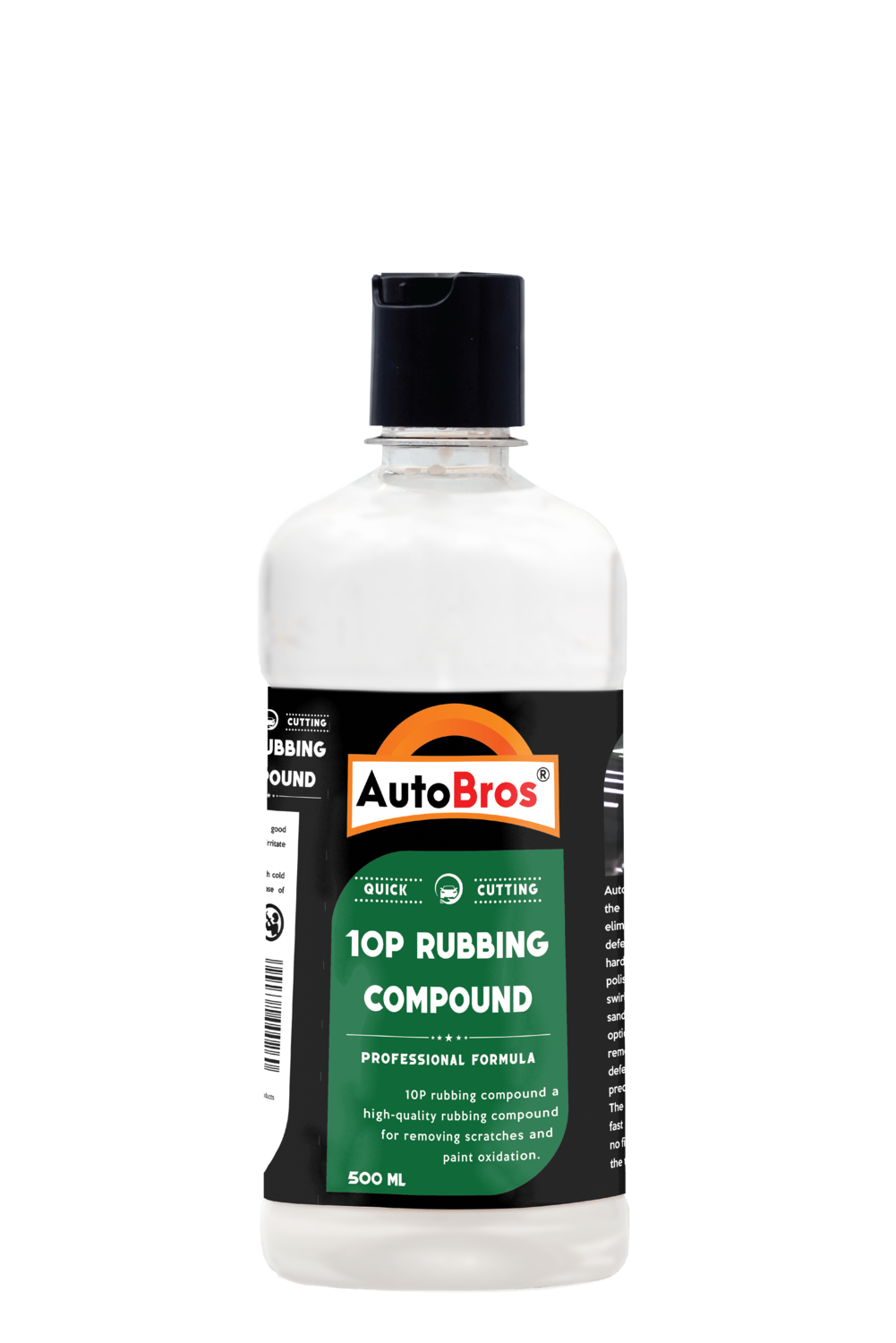 10P Rubbing Compound | Medium Cutting Compound | Removes 3000 Sand Paper Marks | Gives High Gloss & Quick Cutting |