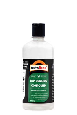 10P Rubbing Compound   Medium Cutting Compound   Removes 3000 Sand Paper Marks   Gives High Gloss & Quick Cutting  