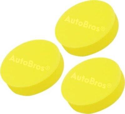 Foam Pad Applicators   Pack of 3 Foam Pads  
