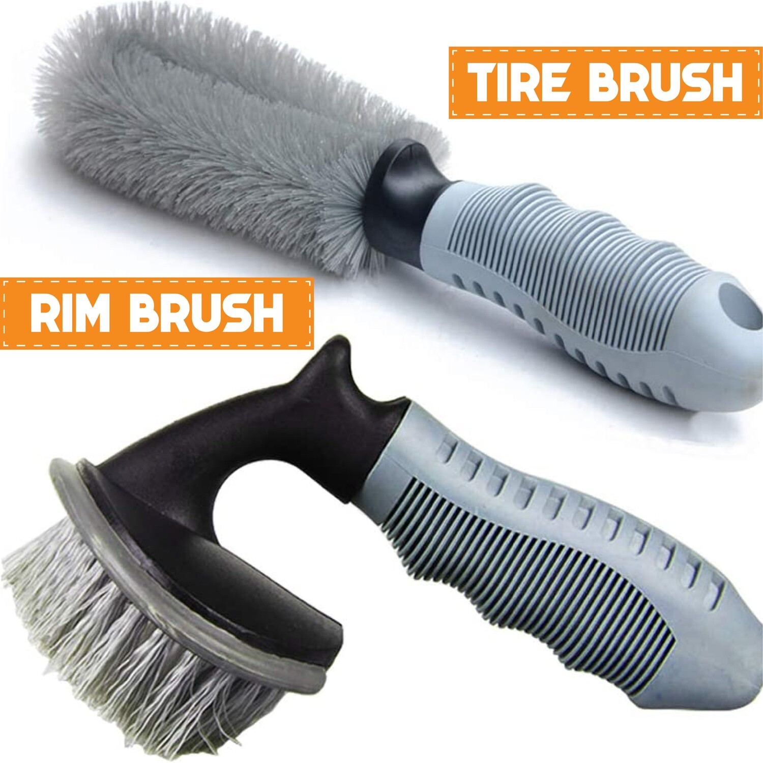 Tyre Cleaning Brush Set