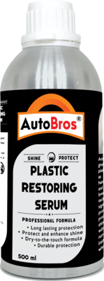 Plastic Serum   Penetrates and Seals All Trim Surfaces   Advanced Polymer-Based Technology