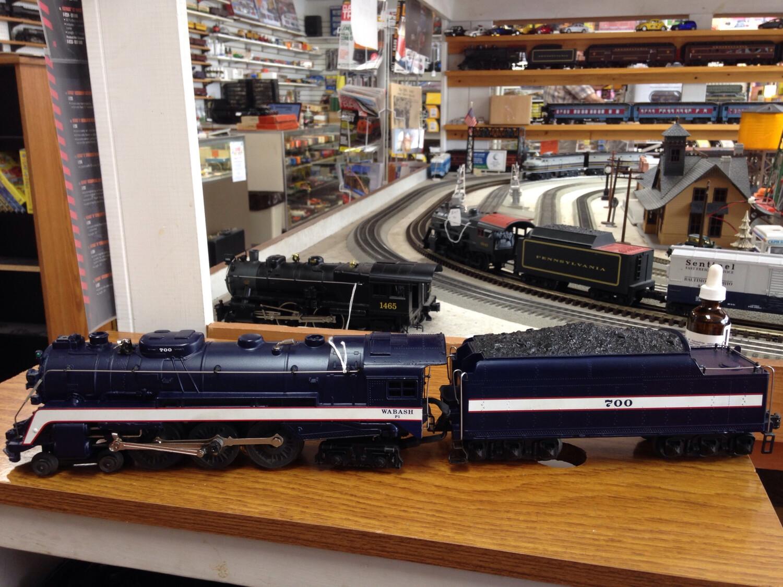 """Lionel Wabash 6-18046 Steam Locomotive """"700"""" 4-6-2 TMCC"""