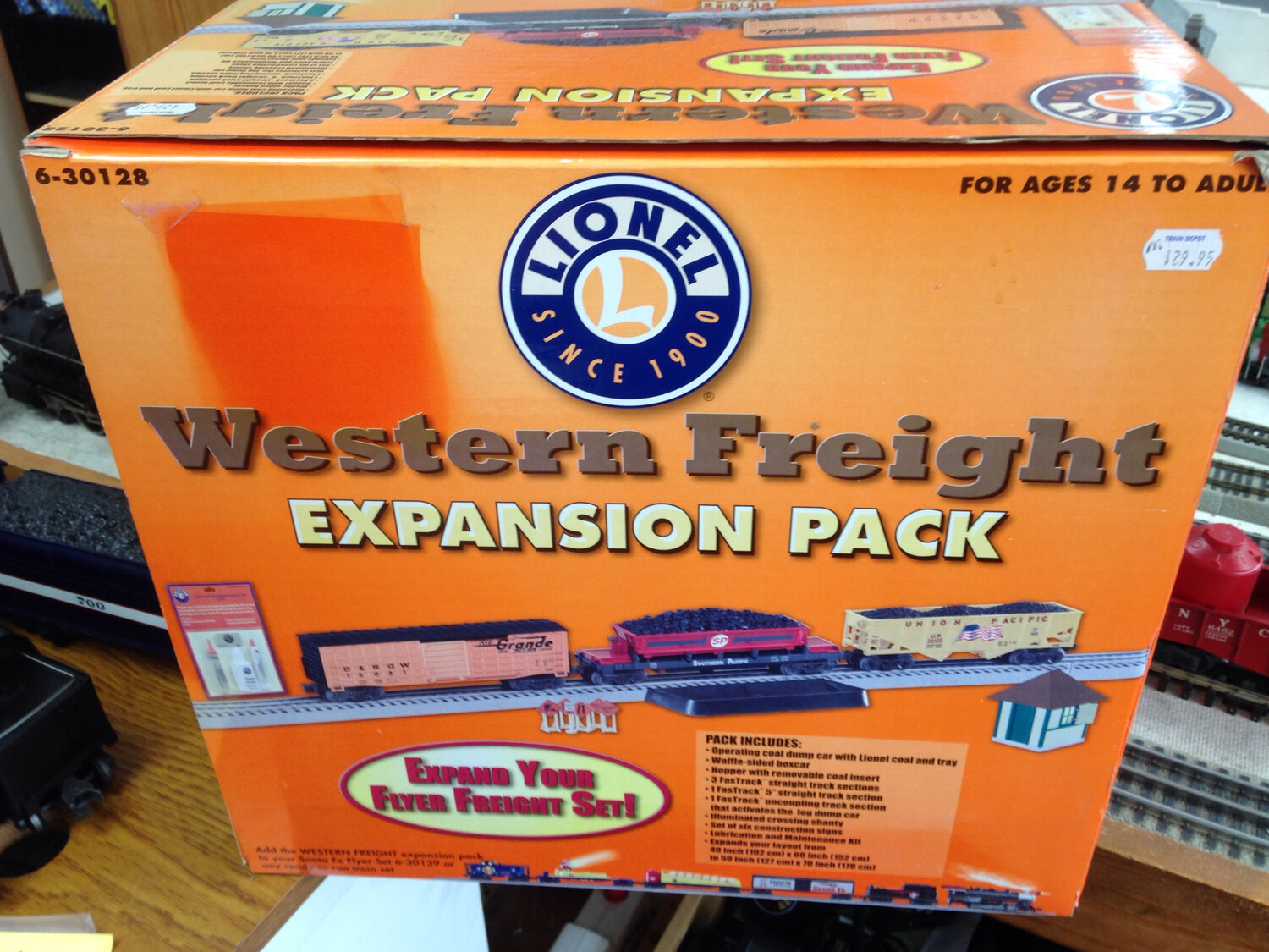 Lionel Western Freight Expansion Pack. 6-30128