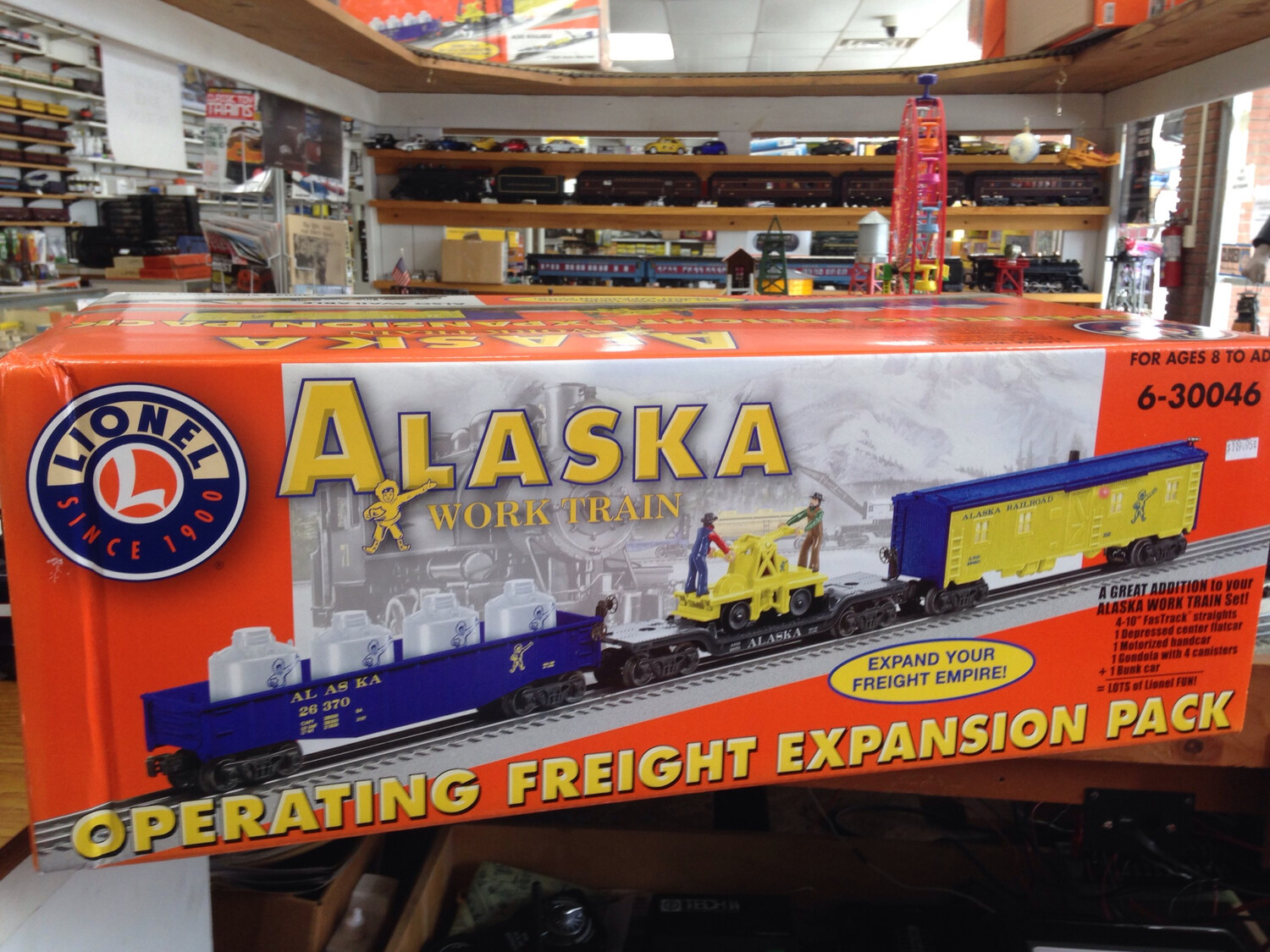 Lionel Alaska Operating Freight Expansion Pack. 6-30046