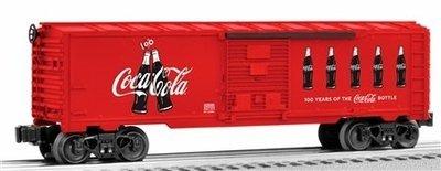 Lionel O 6-82690 36' Box Car, Coca-Cola Anniversary Bottles #82690 (NEW)