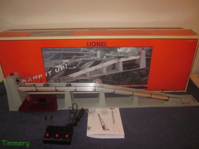 LIONEL, 456R OPERATING COAL RAMP, 6-14005, O-SCALE (NEW IN BOX)