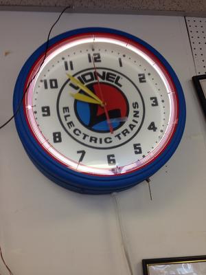 Lionel Clock