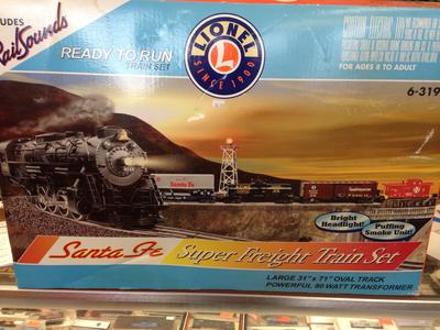 Lionel Santa Fe Super Freight Set Ready to Run 6-31933