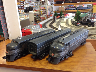 Lionel  NYC F3 ABA 2354/2354/2344