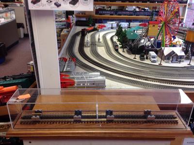 O Gauge Test Track/Roller Base