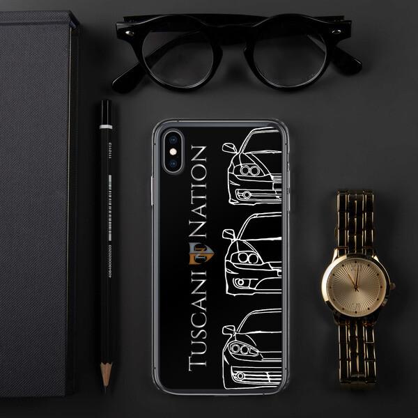 Tuscani Generations Dark Mode Iphone case