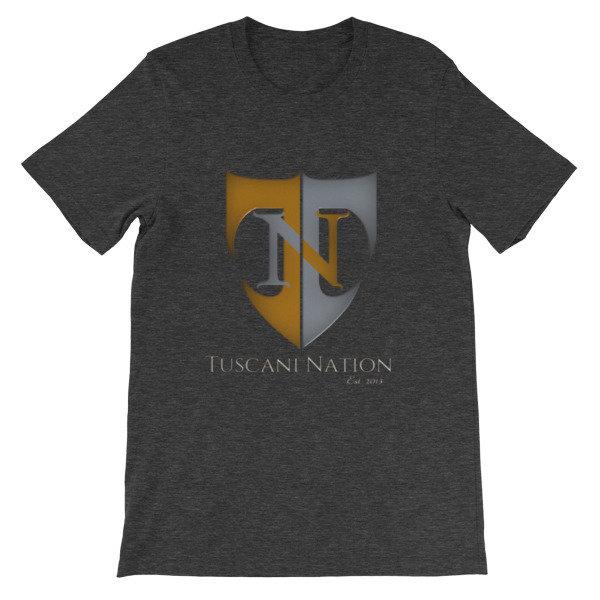 "Tuscani Nation ''Heather""  t-shirt"