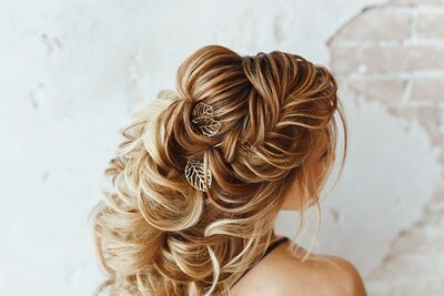 Advanced Bridal Glam Hairstyling
