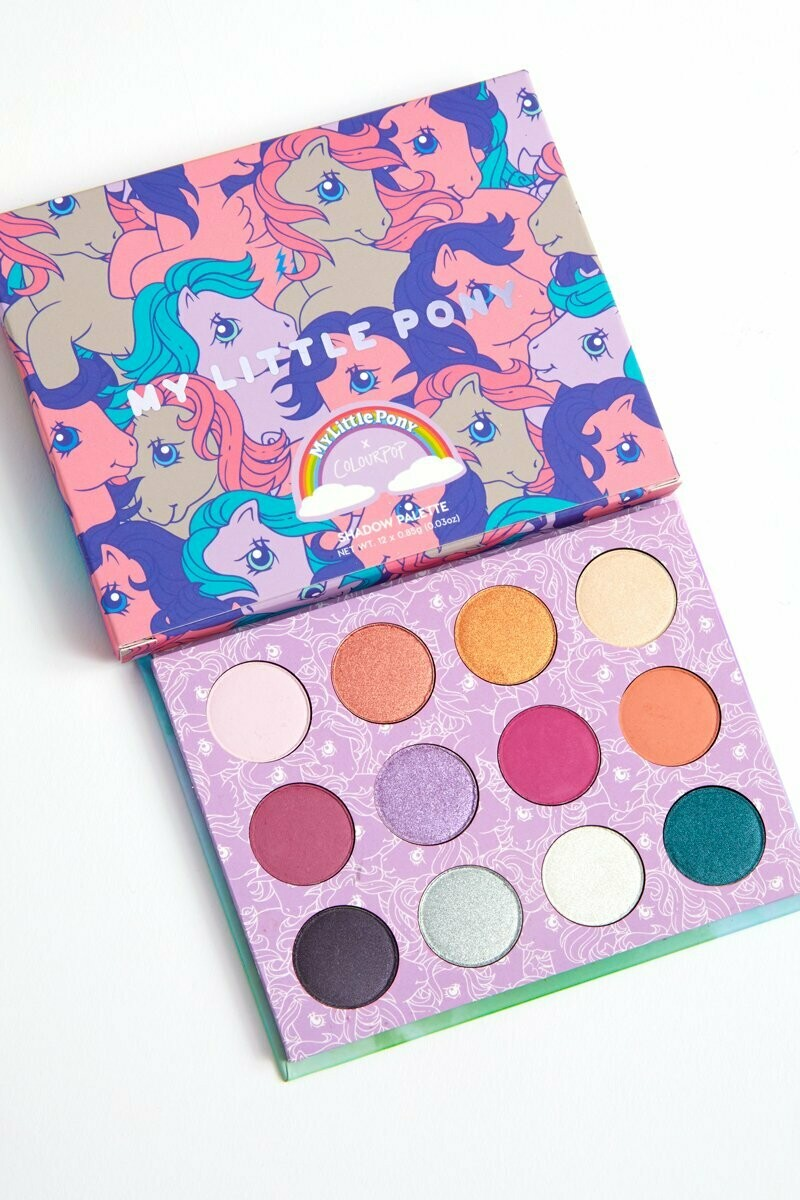 Colour Pop My little pony eyeshadow palette