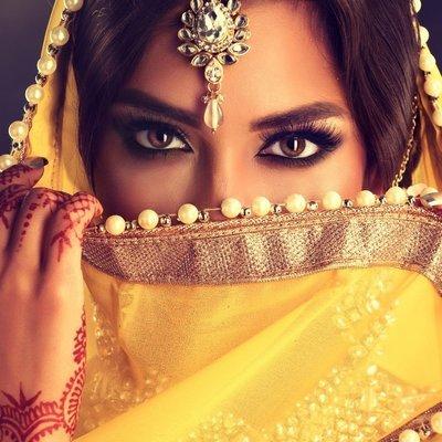 Arabic & Bollywood Bridal Makeup