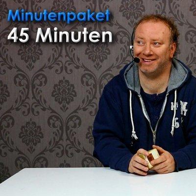 45 Gesprächsminuten buchen