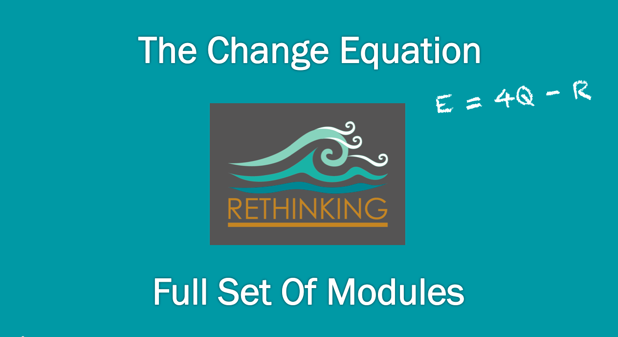 ONLINE MODULES: The Change Equation (Full Set)