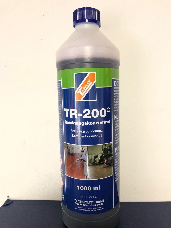 TR200 Reinigungskonzentrat (1 Liter) für extreme Verschmutzung