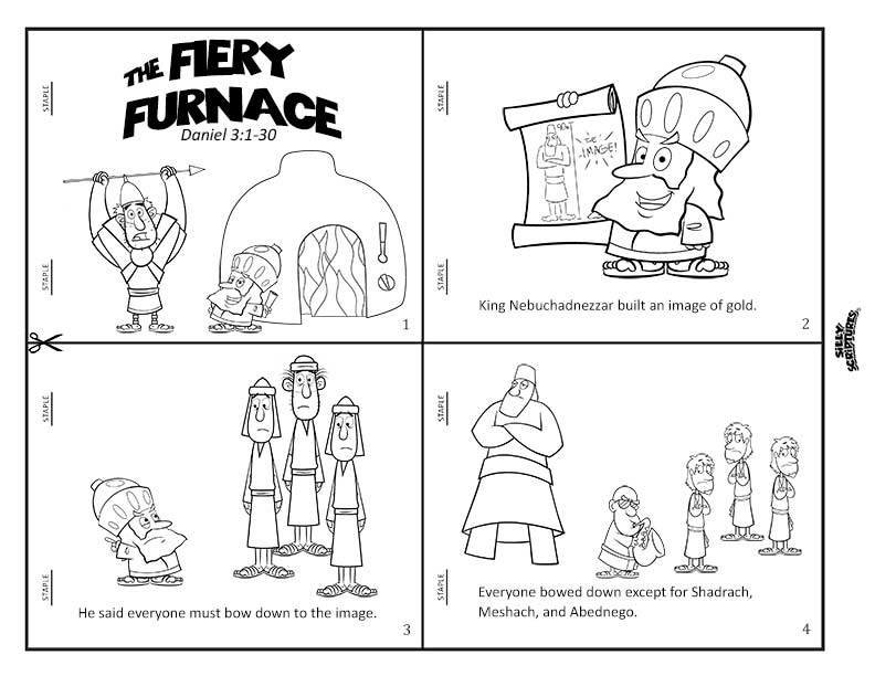 FIERY FURNACE Funsheet Pack 16-page Digital Download PDF