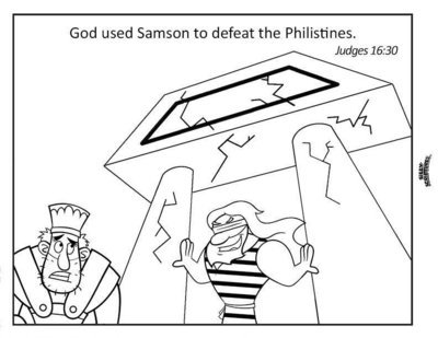 SAMSON Funsheet Pack 17-page Digital Download PDF