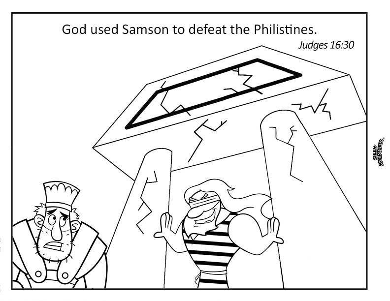 SAMSON Funsheet Pack 17-page Digital Download PDF