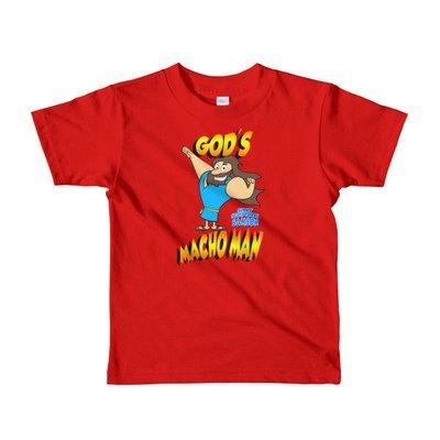 """Samson """"God's Macho Man"""" Short sleeve kids t-shirt"""