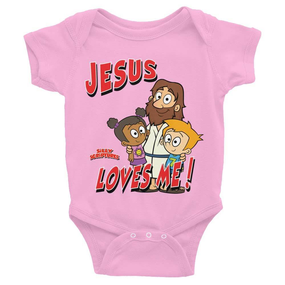 Jesus Loves Me Infant Bodysuit