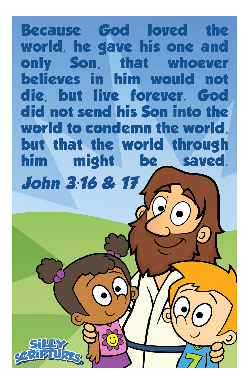 John 3:16 & 17 Poster