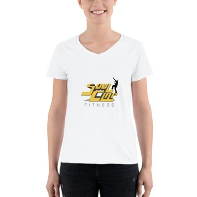 Women's Casual V-Neck Shirt