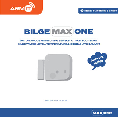 ARMIT BilgeMAX™One | Wireless Boat Monitor Kit.