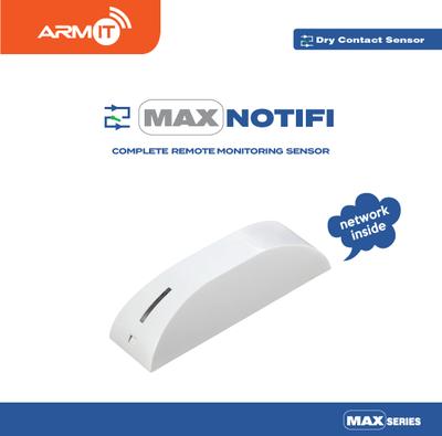 ARMIT MAX NOTIFI™ | Universal Dry Contact Monitor Sensor