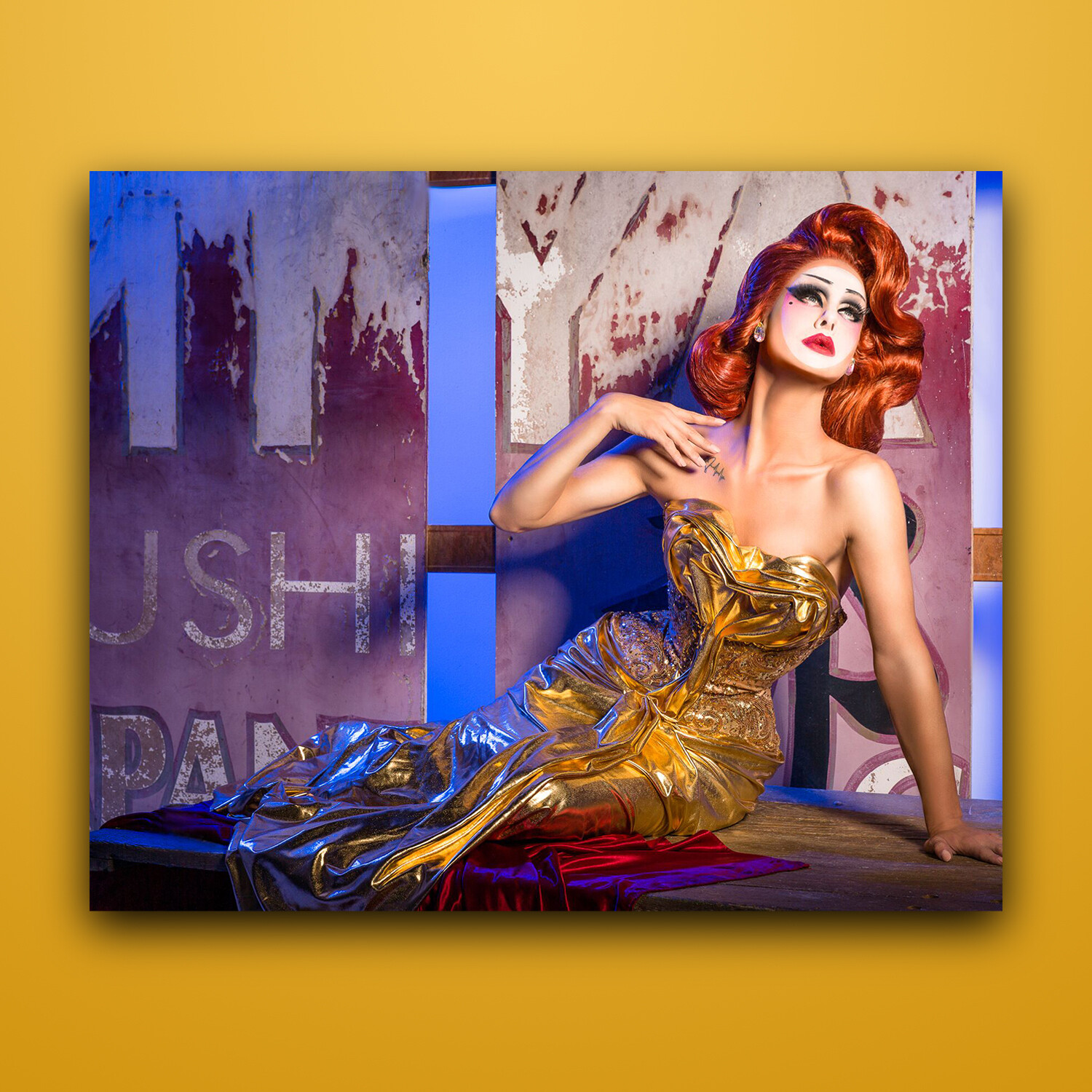 """Drag Photographer Geisha Promo (8""""x10"""") UNSIGNED, Spring 2018 Collection"""