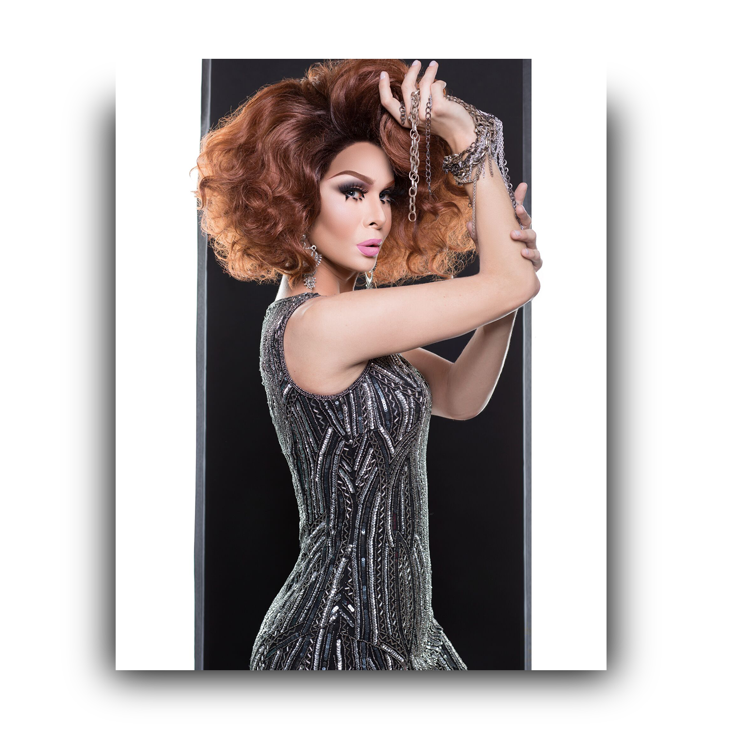 """Drag Photographer Chains Promo (8""""x10"""") SIGNED, Summer 2017 Collection"""