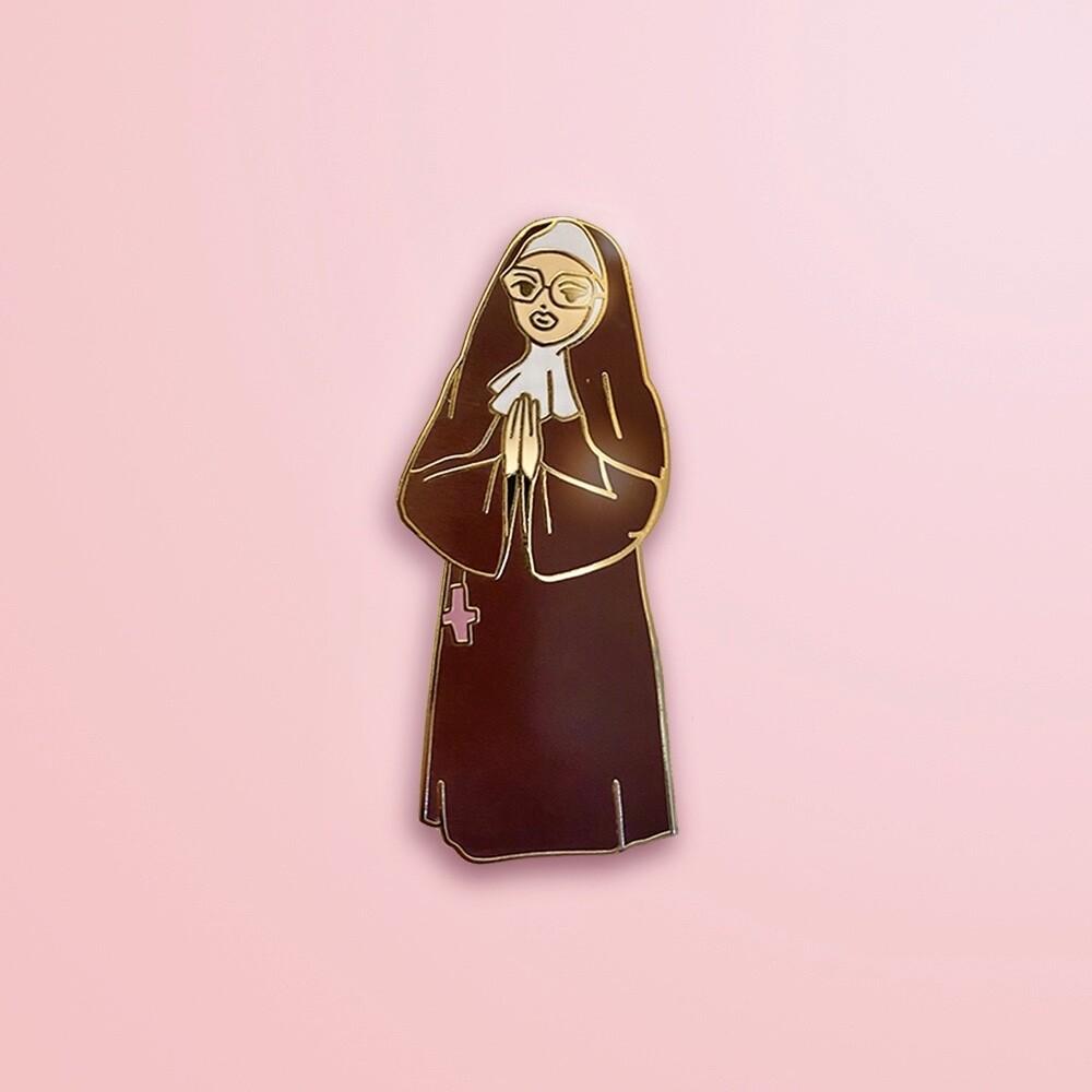 Sister Mary Kuntz Enamel Pin