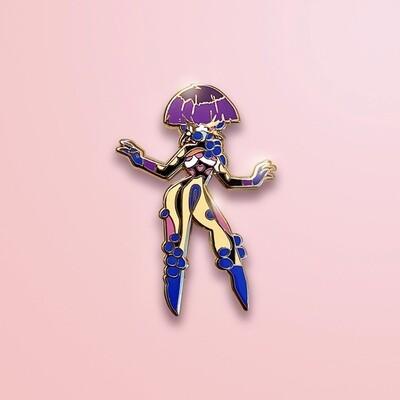 Club Kid Enamel Pin
