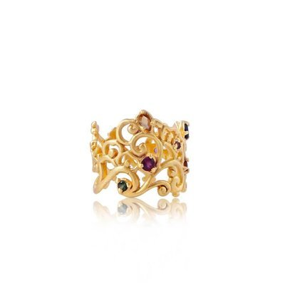 Follow Your Bliss Ring • Gold Vermeil
