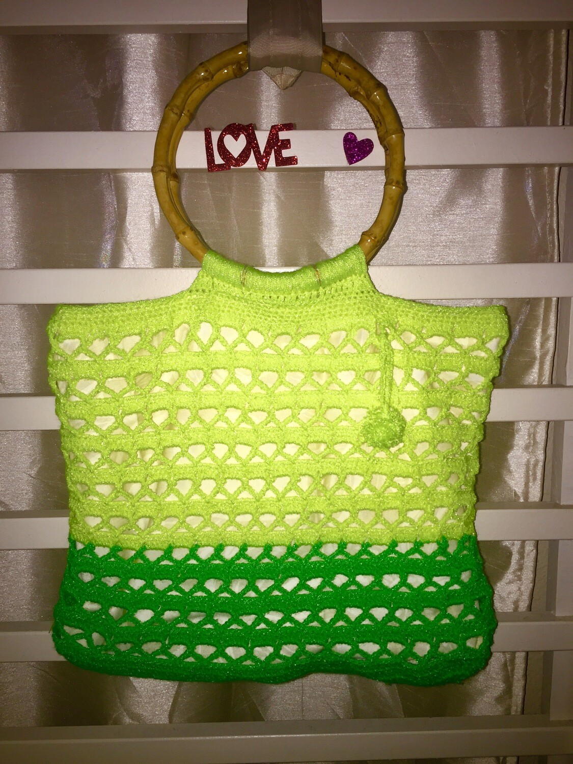 SUMMER Beach Crochet Bags,Handmade