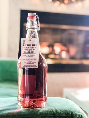 Shiny Blackberry Sour Cider