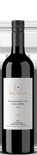 """2015 Big Ideas """"Classical"""" Cabernet Franc"""